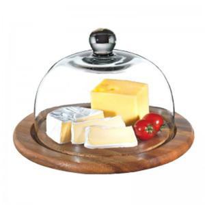 Deska do sera ze szklaną przykrywą ZASSENHAUS - 2822983609