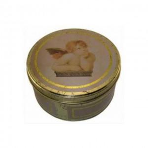 Puszka metalowa *anioł* 20cm - 2822983615