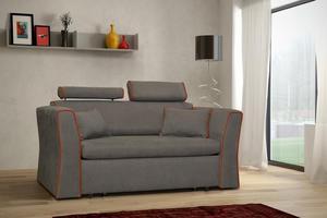 Sofa Ibiza 2R z regulowanymi zagówkami 2 osobowa do salonu - GR A - 2823047859