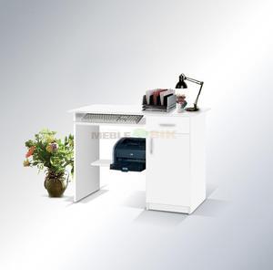 Biurko 01 z wysuwaną podstawką na klawiaturę - 2823044541