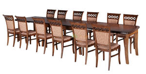 Stół Baron 4 metry + 12 krzeseł VIP - 2877325903