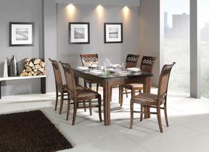 Stół 4 metry z 6 krzesłami - 2877325904