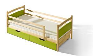 Łóżko dziecięce Pati - Łóżko Pati bejca kolor - 2823045426