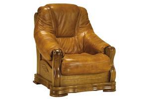 Fotel skórzany Sonia - Fotel Sonia skóra - 2823045990