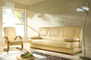Kanapa finka z fotelem - Kanapa finka z fotelem skóra - 2823046131