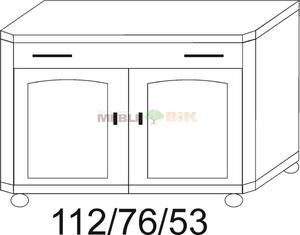 Komoda RETRO 1S+2D - 2823046452