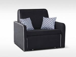 Sofa York 1 osobowa z funkcją spania - Tkaniny G-A - 2823046630