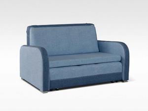 Sofa Karo 2 osobowa z funkcją spania do salonu - Tkaniny G-0 - 2823046640