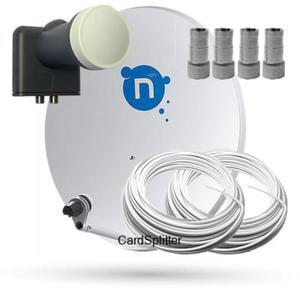 Zestaw Satelitarny do odbioru telewizji N. Zestaw przystosowany do dekodera Nrecorder 250GB...