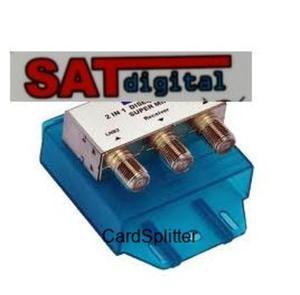 Przełącznik Diseqc SAT digital 2x1 GD-21