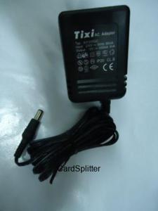 Zasilacz Tixi 12V - 500mA Uniwersalny, wielofunkcyjny