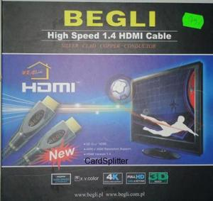 Kabel HDMI High Speed 1.4 Cable 0,7m.