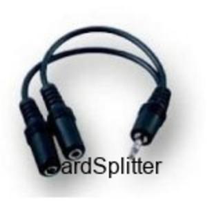 Y-Adapter Gniazdko Stereo Viianco 2x 3,5 mm 0,2m