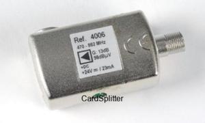 Wzmacniacz liniowy UHF 13dB