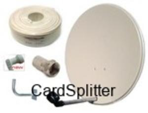ZESTAW SAT instalacja 1 satelity np. HOTBIRD