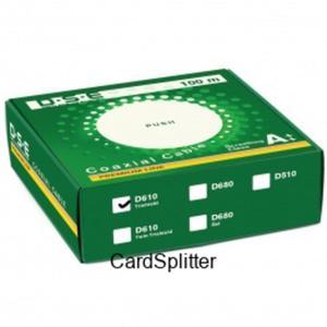 Kabel RG6 CU DSE D610 Trishield 1mb