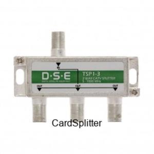 Rozgałęznik CATV 3x1 DSE TSP1-3