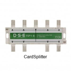 Rozgałęźnik CATV 8x1 DSE TSP1-8