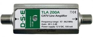 Wzmacniacz antenowy DSE TLA-200A