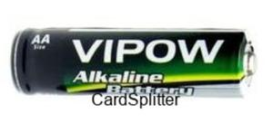 Bateria AA Alkaliczna / Alkaline Battery VIPOW
