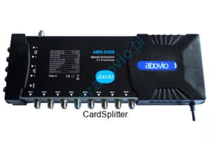 aMS-0508 końcowy multiswitch 5×8