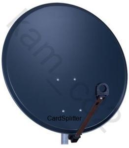 Antena satelitarna 85 cm FAMAVAL PP L GRAFIT