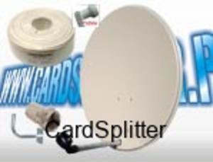 ZESTAW SAT instalacja 1 satelity np. HOTBIRD + dekoder LINBOX F16