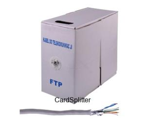 Kabel komputerowy skrętka FTP 4x2/0.5CCA (KAB0104CCA)