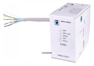 Kabel komputerowy FTP-S Cat5e CABLETECH (KAB0107)