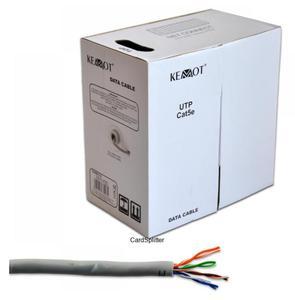 Kabel komuterowy - skrętka KEMOT UTP Cat5 (KAB0112)