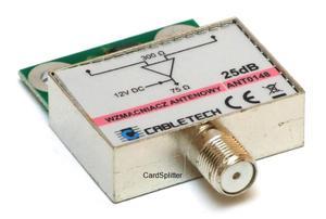 Wzmacniacz antenowy dopuszkowy ANT0148 25dB - Cabletech