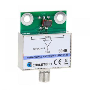 Wzmacniacz antenowy dopuszkowy ANT0149 30dB - Cabletech