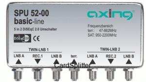 Diseqc Axing 5/2 SPU 52-00
