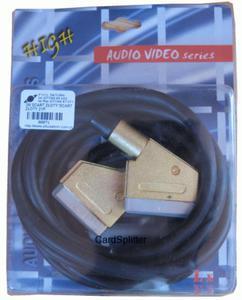 Kabel SCART - SCART 21P 3m