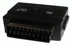 Przejście SCART - 3GN. RCA + SVHS z przełącznikiem