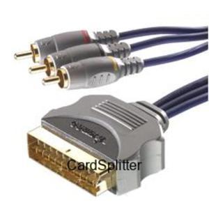 Kabel 3 RCA-EURO GOLD 2m