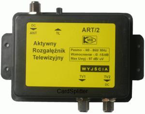 ART-2 Aktywny rozgałęziacz sygnału TV