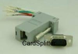 Złącze RS232->RJ45 do LINBOX 6818