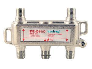 Rozdzielacz sygnału RTV i SAT - Axing SVE 4-01