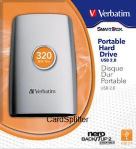 Dysk 320GB Verbatim