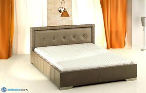 80277 Klasyczne łóżko tapicerowane - 1760899307