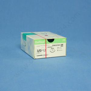 Nici DAFILON 3/0 IG.24 mm. / 75 cm. - niewchłanialne - 3/0 IG.24 - 2828995593