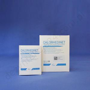 Chlorhedinet opatrunek gazowy - 5 x 5 cm. (50 szt.) - 5 x 5 cm. - 2828995830