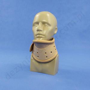 Kołnierz ortopedyczny typu Campa bez otworu, rozmiar L nr 4190 - bez otworu - 2828996204