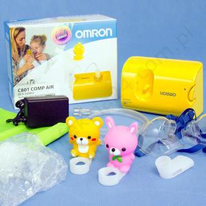 Inhalator OMRON model NE-C801 KD dla dzieci - NE-C801 dzieci - 2828996666