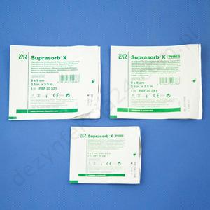Suprasorb X + PHMB. Opatrunek antybakteryjny 5 x 5 cm. (5 szt.) - PHMB 5 x 5 - 2856196556