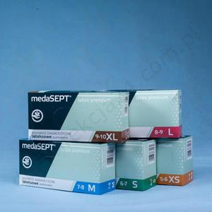 medaSEPT LATEX PREMIUM (100 szt.) - 2836103818