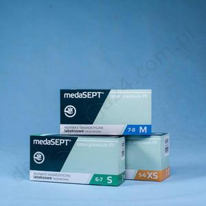 medaSEPT LATEX PREMIUM PF (100 szt.) - 2836103819