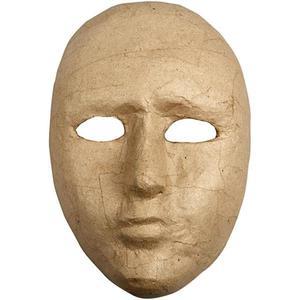 Papierowa maska 23x16 cm - 2857403758