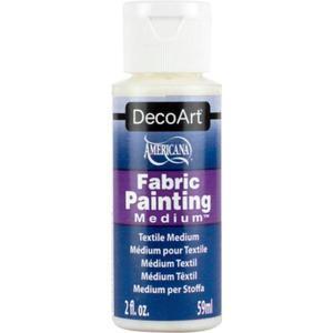 Fabric Painting Medium 59 ml DecoArt - 2857407525